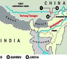 China's dam; regional power