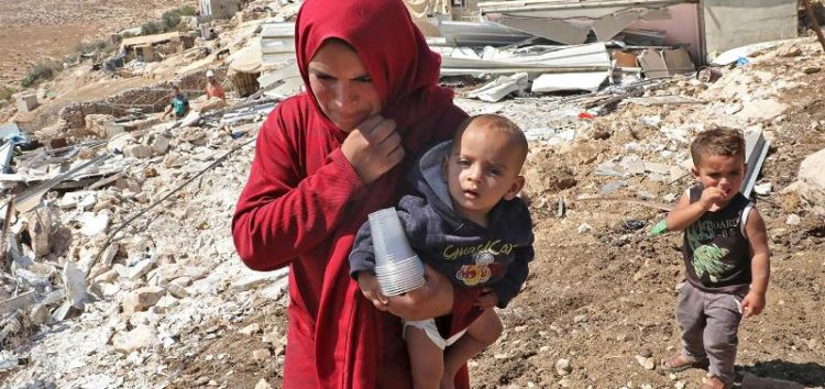 WEST BANK DEMOLITIONS LEAD TO SURGE IN DISPLACED PALESTINIAN CHILDREN
