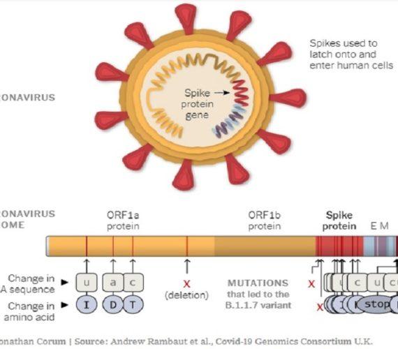 Virus mutation threatens Covid-19 vaccine efficacy
