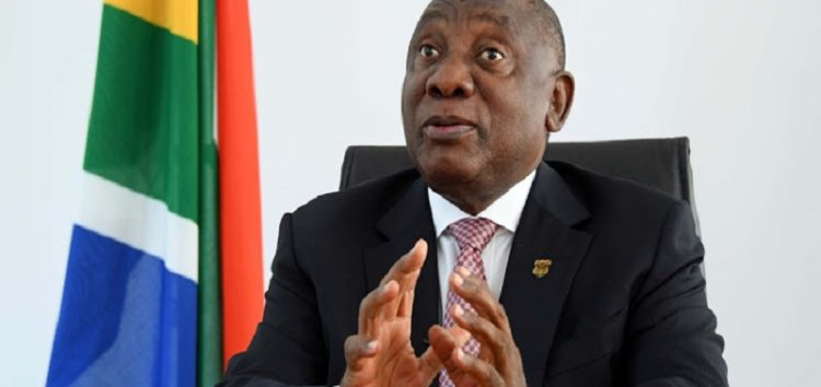 Ramaphosa address SIU report into PPE fraud allegations